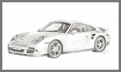 porsche dessins de pascou. Black Bedroom Furniture Sets. Home Design Ideas