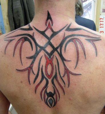 Tribal Haut De Dos Blog De Dosquet Tattoo