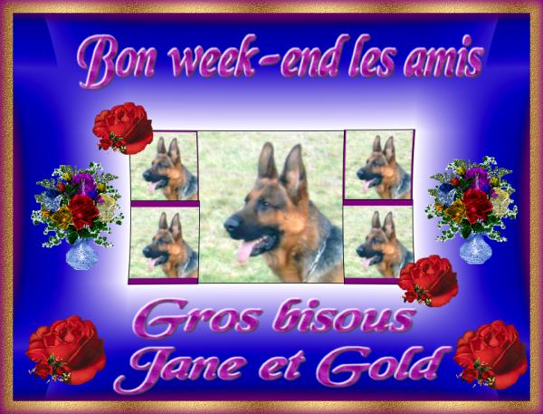 GOLD CADEAUX BON WEEK -END POUR VOUS LES AMIS