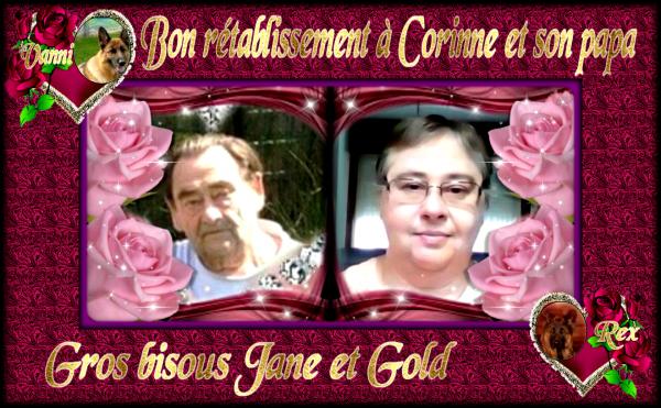 CADEAUX POUR MON AMIE CORINNE HOMMAGE A REX ET CADEAU BON RETABLISSEMNT