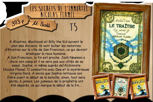 Les secrets de l'immortel Nicolas Flamel T5