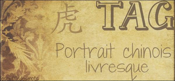 Portrait chinois livresque