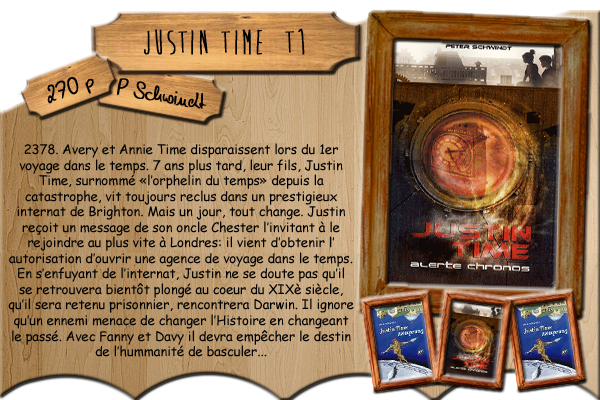 Justin Time T1