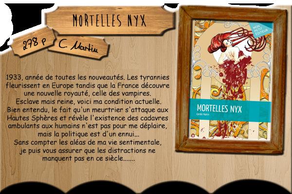 Mortelles Nyx