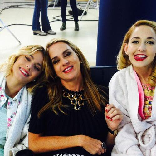 violetta backstage  aeroport