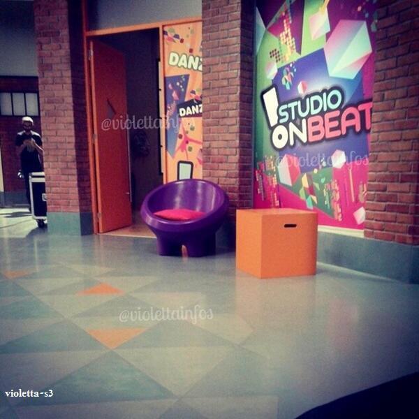 violetta backstage S3: le tournage continu