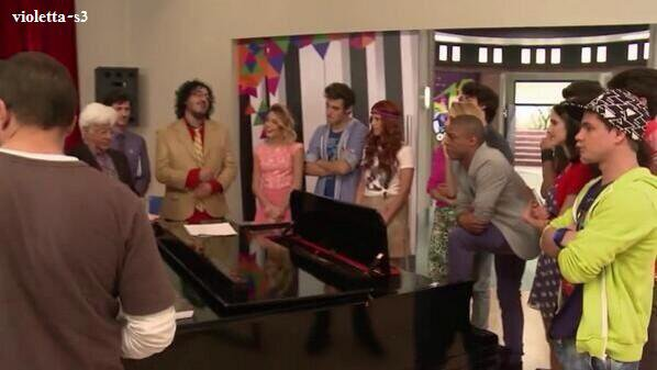 violetta 3 backstage et photo exclusive et VRAI SCOOP + nouvelle photo