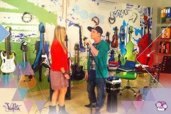 violetta backstage s3: new tof + nouvelle video sur les filles de violetta