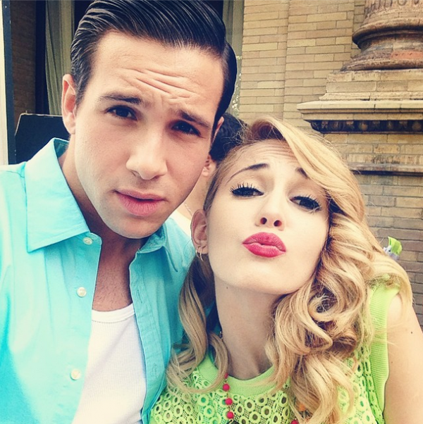 violetta backstage s3: new du tournage