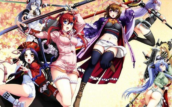 Hyakka Ryouran Samurai Girls et Hyakka Ryouran Samurai Bride