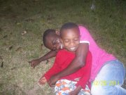 moi et emmanuel mon neveu