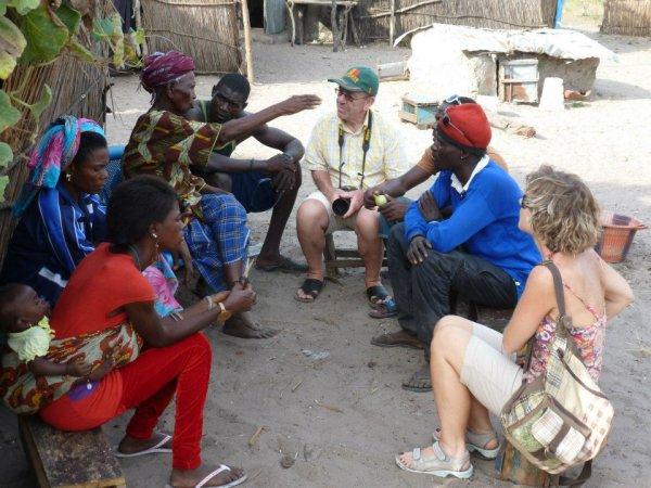 visiter les îles du sine saloum-Sénégal