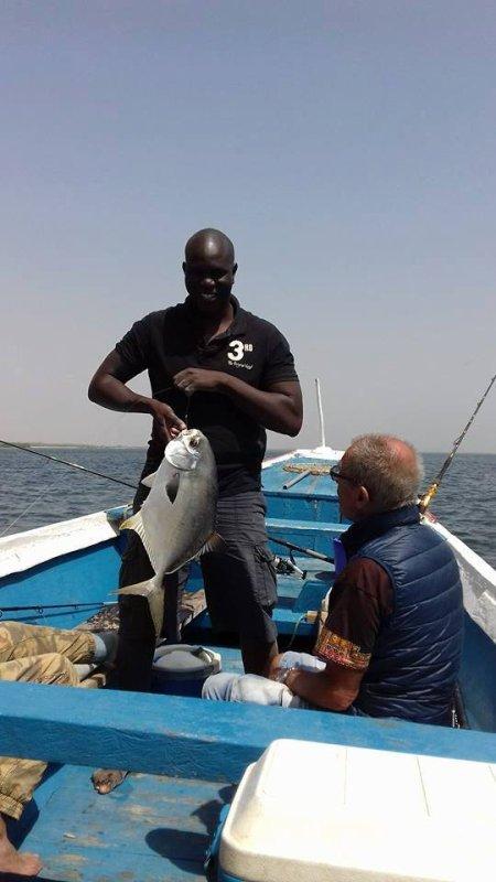 journée pêche dans les îles du saloum Sénégal