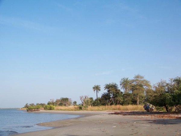 les îles du saloum-Sénégal