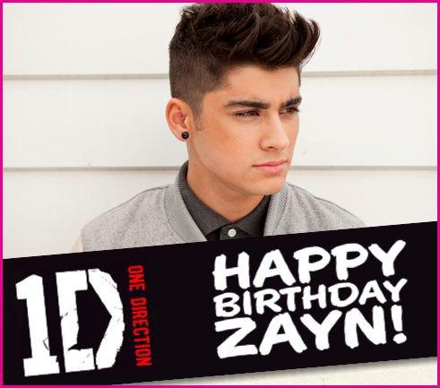 Zayn Malik : Happy Birthday !