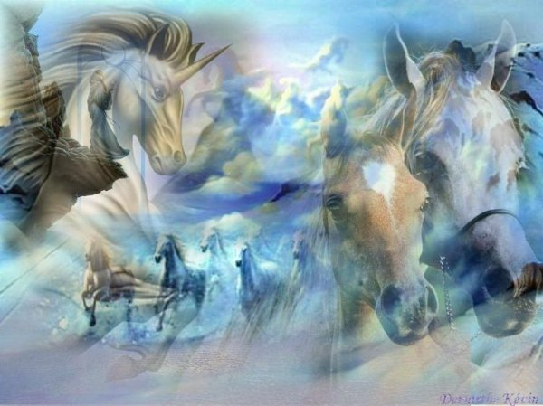 Esprit cheval.