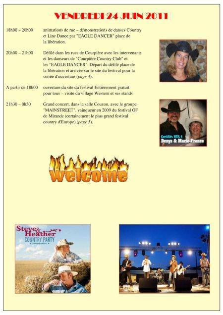 Chers amis passionnés de danse Country et Line Dance, et du Mythe Américain, ce message est pour vous !!!!!