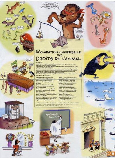 Les droits des animaux.
