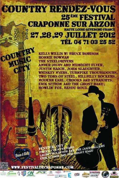 Prèparez-vous vacances pour le festival de Craponne 2012!!!! =)