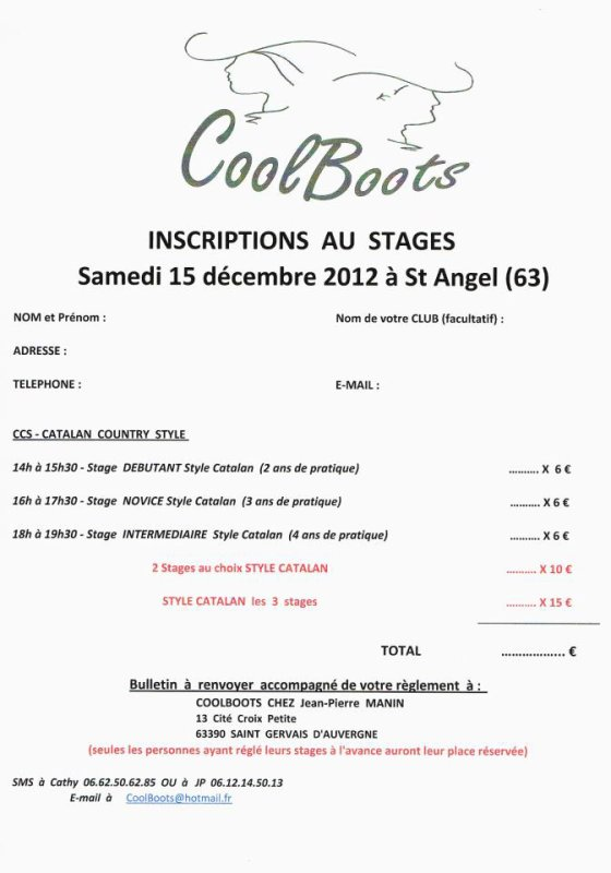 Stage Coolboots!!!!! =)