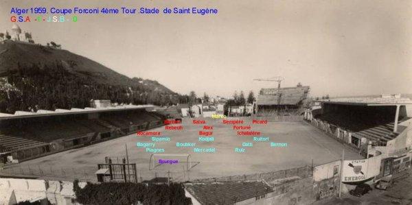Coupe Forconi 4éme Tour au Stade de Saint Eugéne