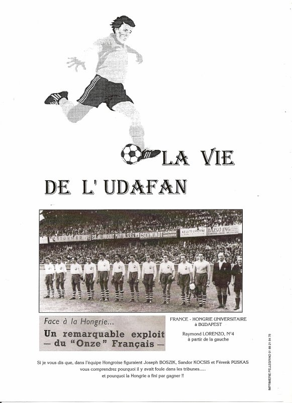 LA VIE DE L'UDAFAN