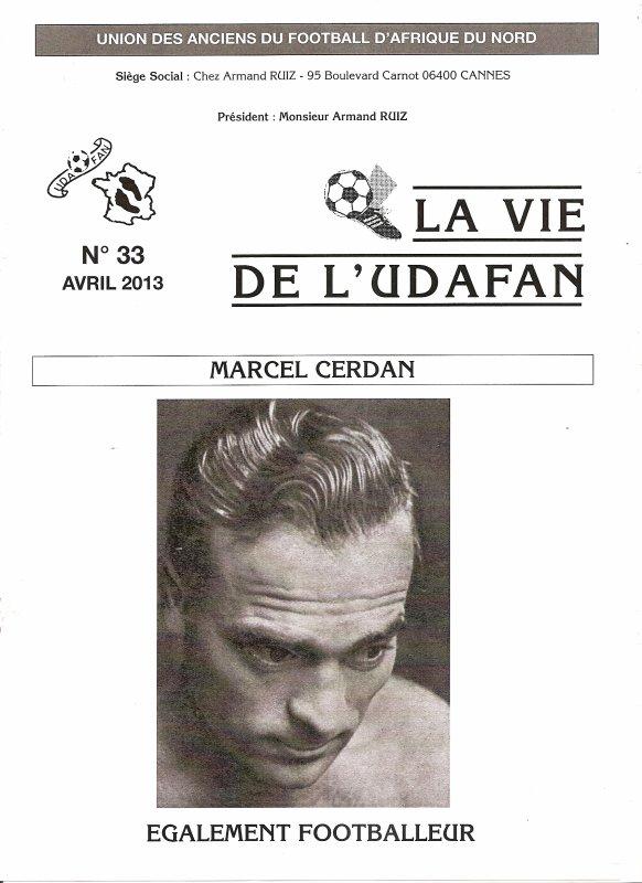 Journal 33 Marcel CERDAN
