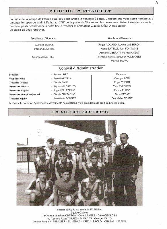 Journal 33 La Vie des Sections