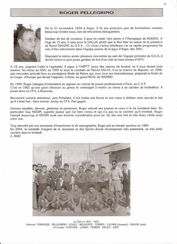 JOURNAL 35 HOMMAGE A Roger Pellegrino