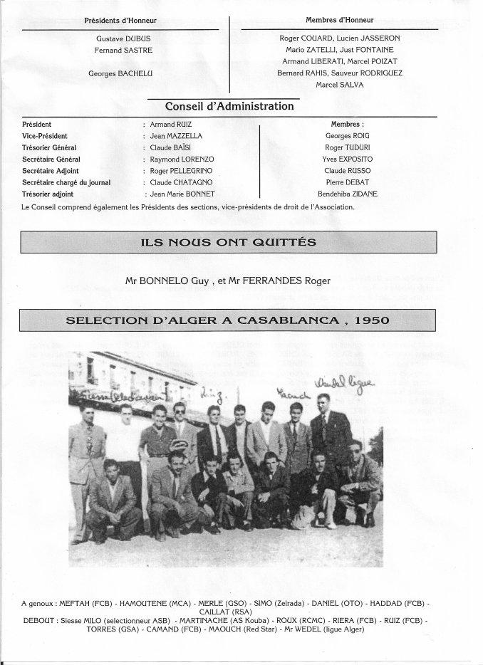 HAMOUTENE HASSEN sélection d'Alger