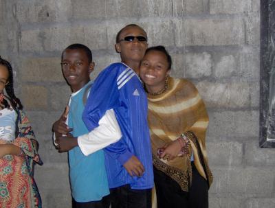 Taoufik,Moi et Raima