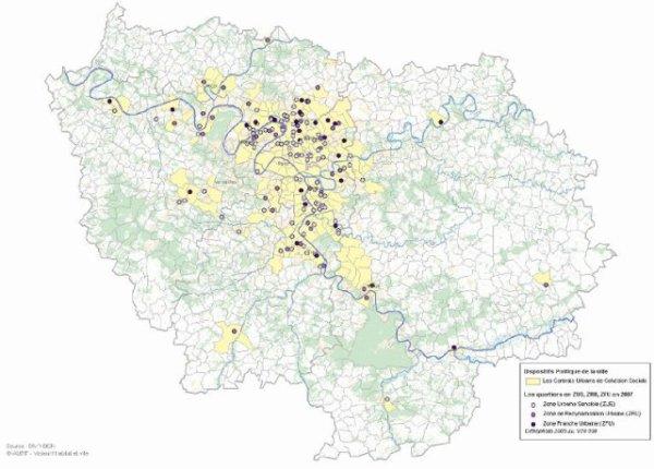 Zones de redynamisation urbaine