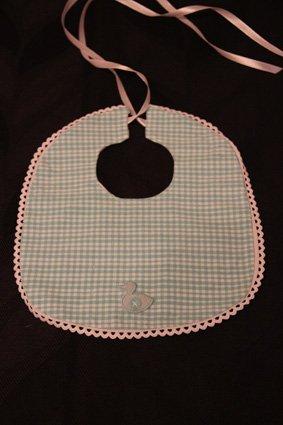 5 - bavoir naissance ou bébé tissu - 3¤5