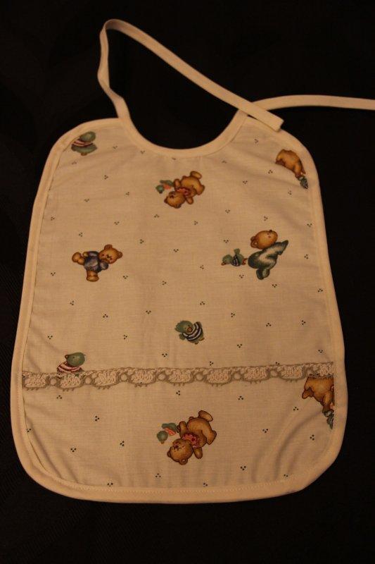 11 - bavoir bébé  ou enfant tissu réversible - 4¤