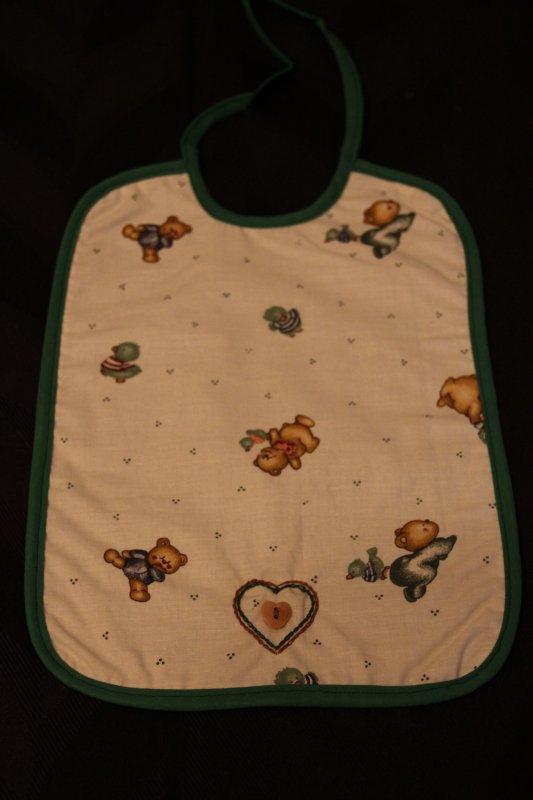 12 - bavoir bébé  ou enfant tissu réversible - 4¤