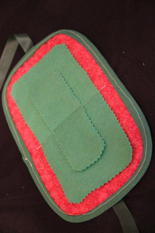 20 - petite pochette pour ranger aiguilles épingles, différents coloris - 4¤