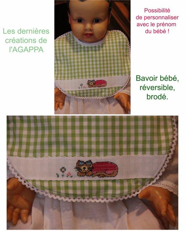 Nouvelles créations de l'AGAPPA : commander à agappa@orange.fr (13¤)