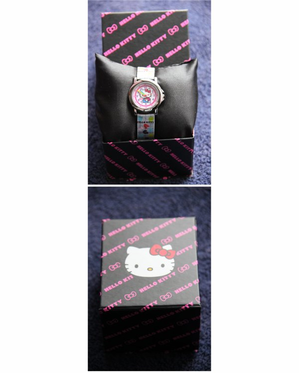Mai 2015 : Montre Hello Kitty neuve