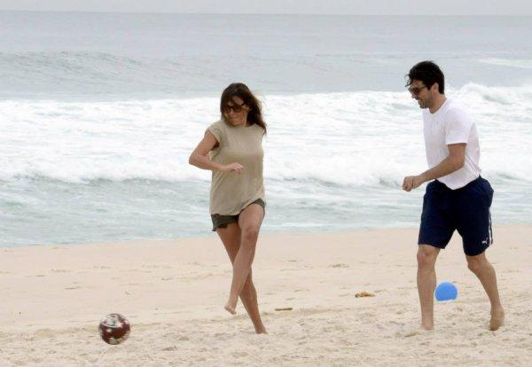Gigi buffon et sa femme Alena