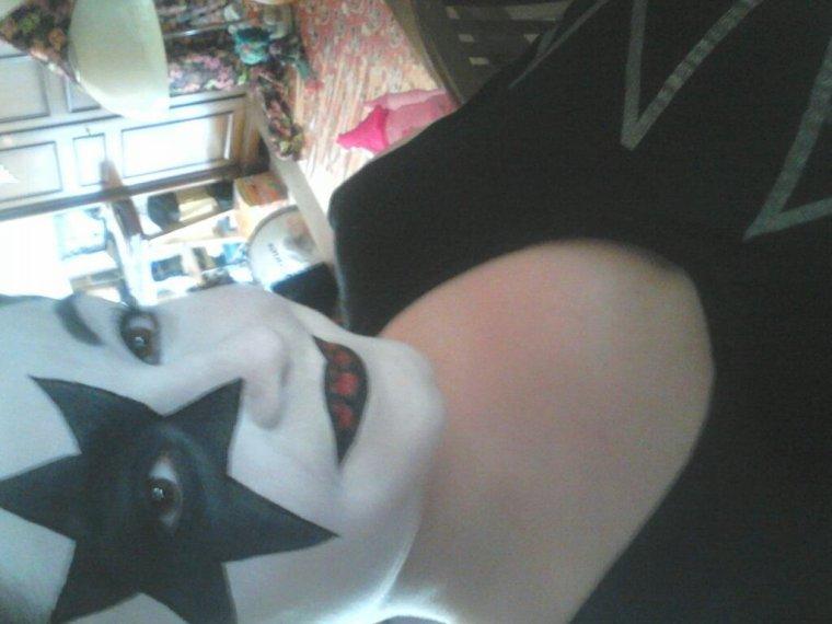 Mon maquillage d'Halloween