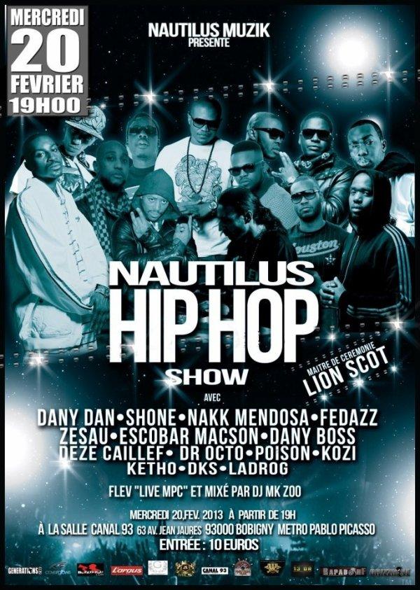 Nautilus hip hop show