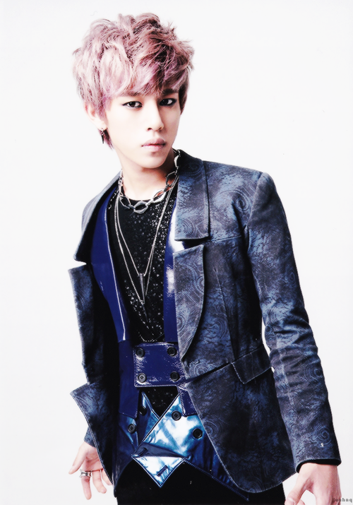 "#2. Daehyun's official picture for "" One Shot "" [japanese version]"