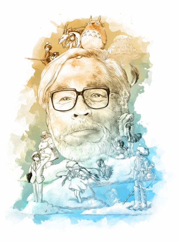 Hayao Miyazaki !!