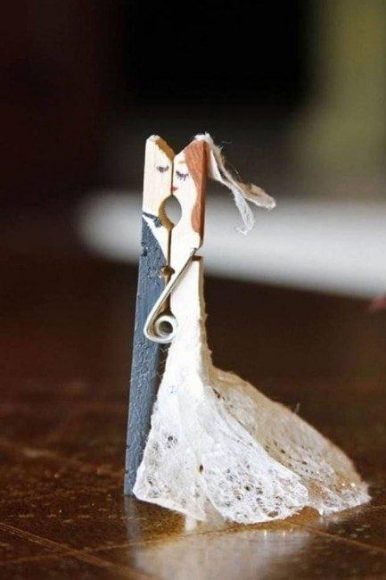 8 idées de déco avec des pinces à linge