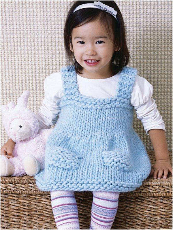 20 idées de crochet et tricot pour les bébés.
