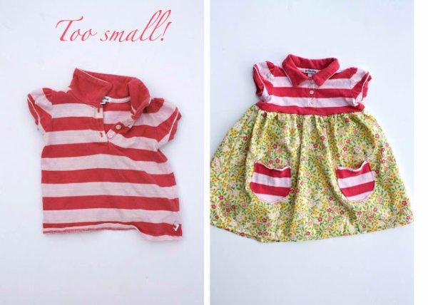 Les enfants grandissent  les vêtements sont  trop petits  , il y a des solutions...
