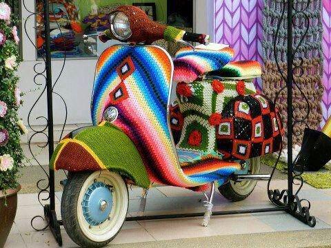 Crochet insolite.