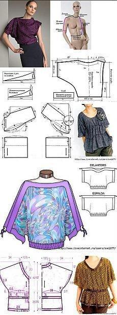 Pour celles  qui préférent la couture.