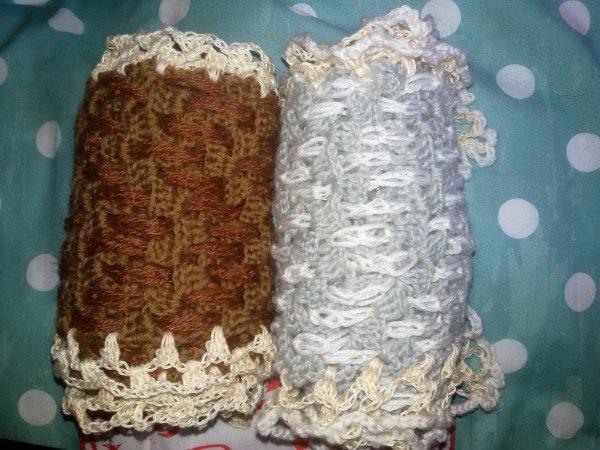 Echarpes au crochet