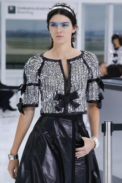 Crochet haute couture. Chanel